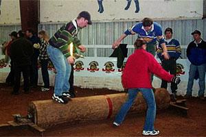 Dry Land Log Burling